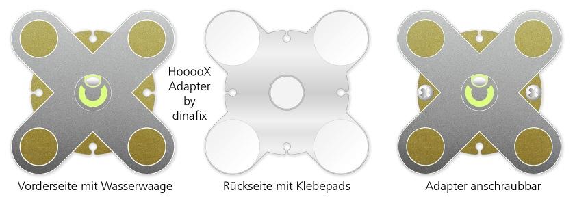 dinafix selbstklebende hoooox klemmscheibe tack. Black Bedroom Furniture Sets. Home Design Ideas